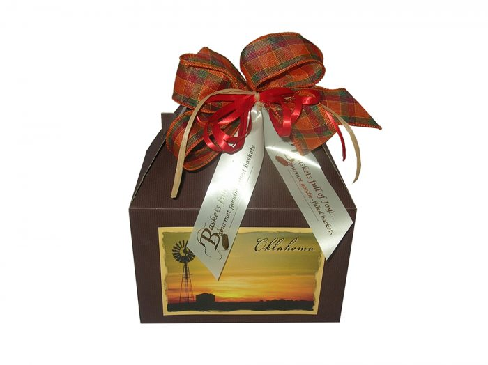 Made in Oklahoma gift basket