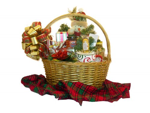 Santa's Best Gift Basket