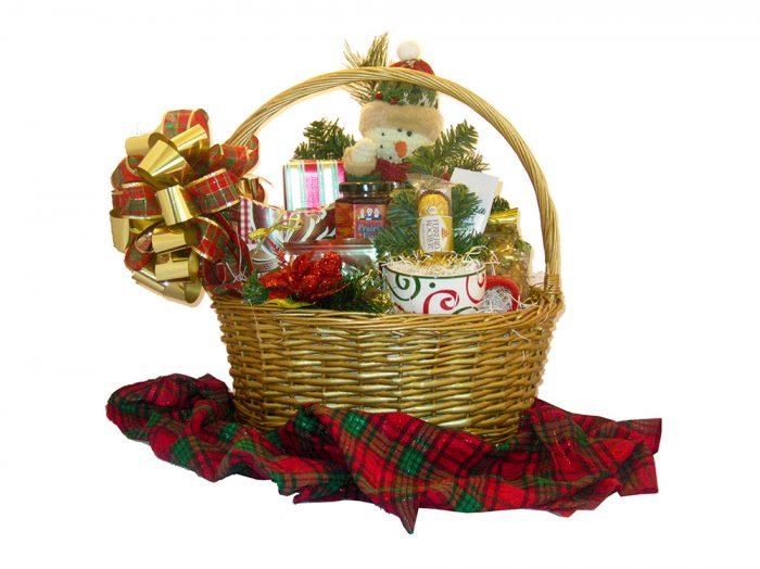 Santa's Best Gift Basket